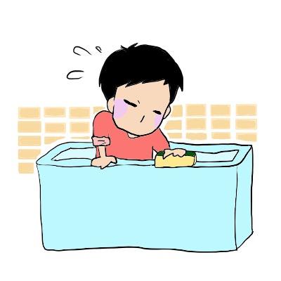 風呂掃除の画像