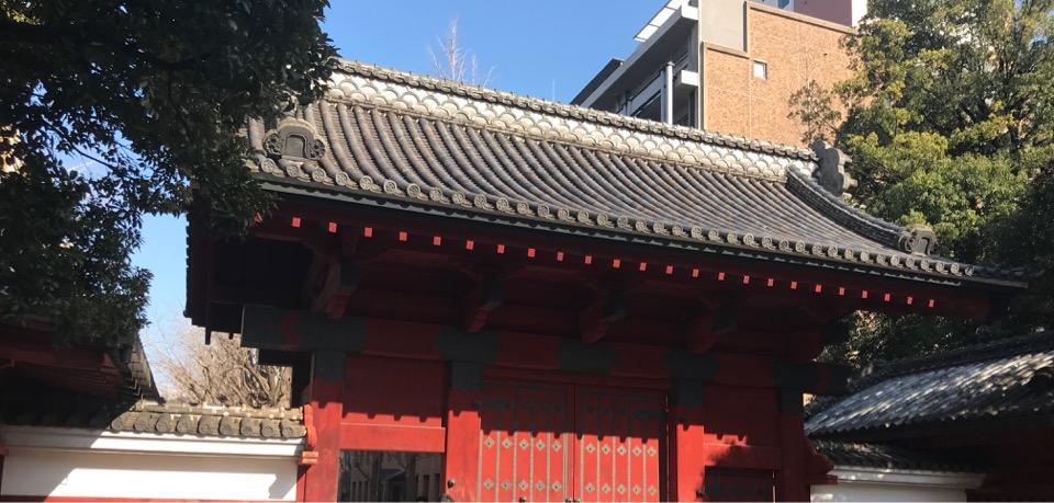 赤門の写真