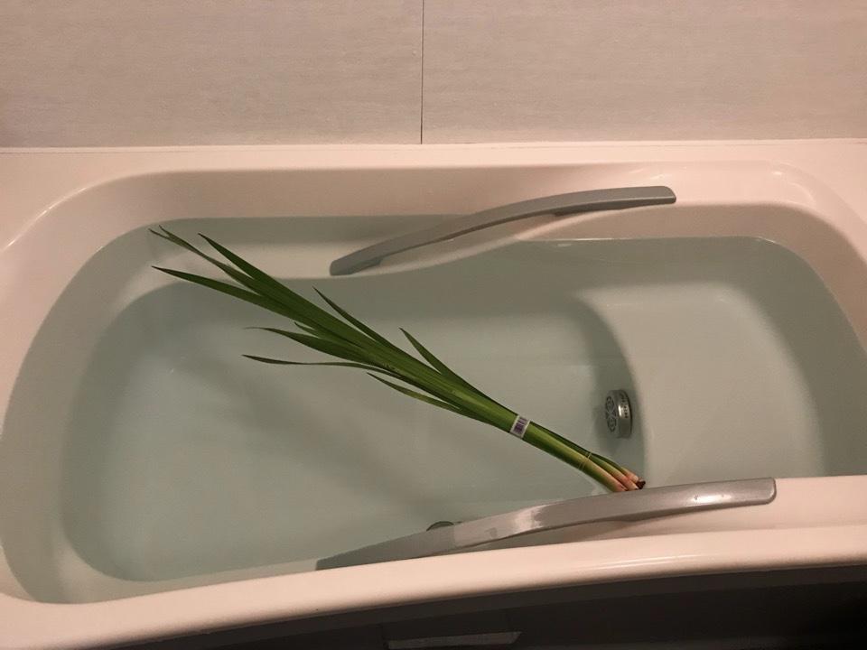 菖蒲湯の画像