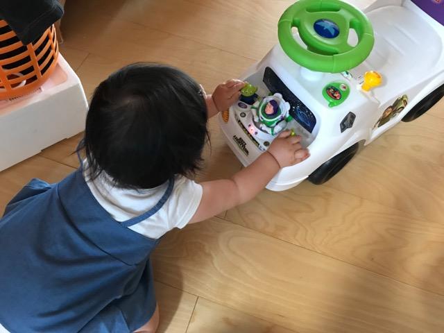 乗用玩具の機能紹介