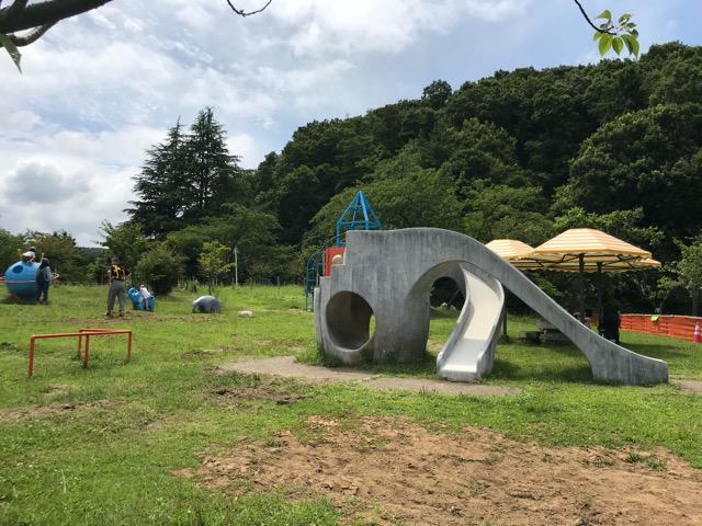 五智公園の遊具